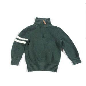 VTG EUC 3T Ralph Lauren Polo 1/4 Zip Sweatshirt